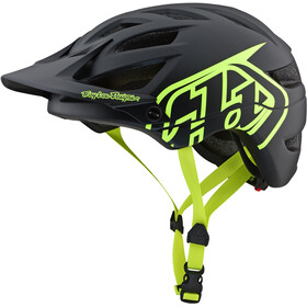 Troy Lee Designs A1 Helmet drone/black/flo yellow